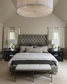 Napa Chic- Master Bedroom- Michelle Wenitsky Interior Design- Jeffrey Totaro Photography
