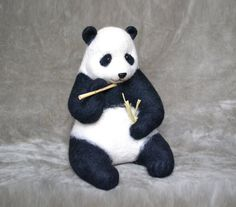 Panda.....I will make this item for your order от GladOArt на Etsy