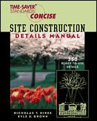 Time-Saver Standards Site Construction Details Manual | McGraw-Hill