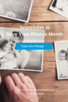 Looking for inspiration and motivation to finally organize your photo collection? September is Save Your Photos Month and we'll be providing tips all month long. Take the Pledge and get access to 30 days of tips and inspiration. Visit http://www.saveyourphotos.org/ to take the pledge or learn more. #saveyourphotos #photoorganizing