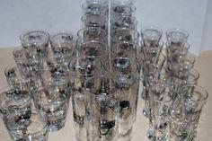 33 Vintage Automobile Glasses. 3 Different Sizes.