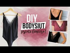 DIY Bodysuit or bodystocking with lace Diy Kleidung Upcycling, Diy Bralette, Diy Clothes Design, Couture Vintage, Sewing Lingerie, Womens Bodysuit, Fashion Project, Boho Diy, Clothing Hacks