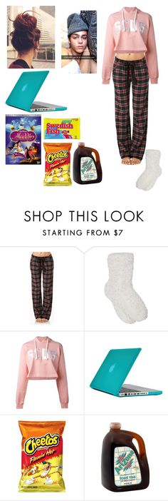 """Movie Night w/Nate Maloley"" by mell-rosee ❤ liked on Polyvore featuring Forever 21, M&Co, GCDS, Speck and Disney"