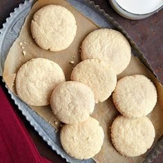 Old-Fashioned Sugar Cookies   This dough will work for slice-and-bake cookies or as a rolled dough for your favorite cookie cutters.