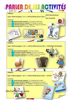 Jouer et Faire + les passe-temps-loisirs