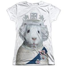 Junior Pets Rock/Queen T Shirt