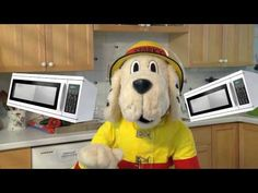 """▶ Sparky's """"Kitchen Rules"""" (Fire Safety Song for Kids) - YouTube"""