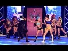 How to Combine Cheerleading Dance Moves - YouTube