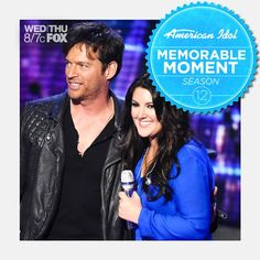 ree Harrison received a big compliment when Harry Connick Jr. said that he'd love to be part of her first album, if she asked!   Relive this memorable moment here: http://www.americanidol.com/videos/season_12/season_12_recaps/the-top-4-perform-again-recap