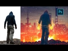 (5) Photoshop Manipulation Tutorial | Welcome to Hell | Photo Effect - YouTube