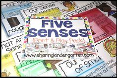 Five Senses {Print &