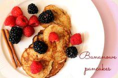 Kuchenne Łasuchowanie: Dwuskładnikowe, dietetyczne pancakes bananowe