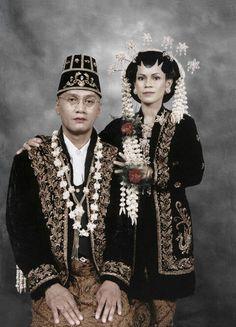 Javaanse bruid/bruidegom