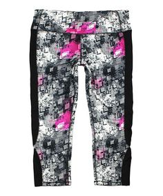 Look what I found on #zulily! Galaxy Core Moisture-Wicking Capri Active Pants #zulilyfinds…also in horizon core (blue)