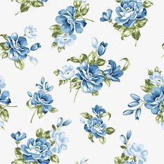 Blue Flower Background, Flower Clipart, Blue, Flowers PNG and Vector with Transparent Background for Free Download