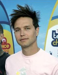 Mark Hoppus: the adorable goofball you wish you could take home to mom.