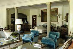 Club de la Puerta de Herro Oversized Mirror, Living Room, Interior Design, House, Inspiration, Furniture, Restaurants, Designers, Home Decor