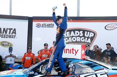 2016 XFINITY Series winners Friday, April 8, 2016  -   2. Kyle Busch, Heads Up Georgia 250 (at Atlanta). Get race results and more here. Photo Credit: Getty Images
