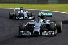 Nico Rosberg e Lewis Hamilton (Getty Images)