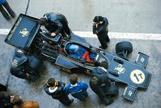 1974 Belgian Grand Prix, Lotus 72, Ronnie Peterson...