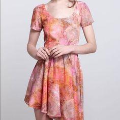 "Selling this ""Samantha Pleet Coral Crystals Asymmetric Dress"" in my Poshmark closet! My username is: lauramarikob. #shopmycloset #poshmark #fashion #shopping #style #forsale #Samantha Pleet #Dresses & Skirts"