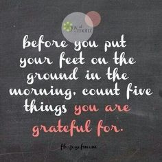This year I want to be more grateful for all that I have, all that I am, what I've accomplished & what I will accomplish