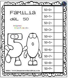 Aprendemos la familia de los números (5) - Imagenes Educativas