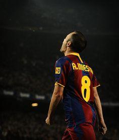 Andres Iniesta F.C. Barcelona
