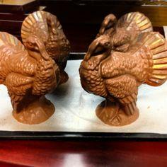 Decorated Chocolate Turkeys! www.dunmorecandykitchen.com