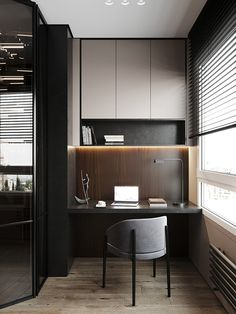 Study Table Designs, Study Room Design, Home Room Design, Home Office Design, Casa Magna, Casa Milano, Wardrobe Door Designs, Apartment Projects, Home Office Setup
