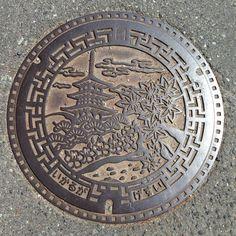まとめてマンホールカバー 奈良県| ☆ 斑鳩町(いかるがちょう)☆