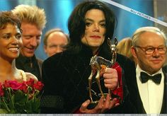 Michael Jackson at the Bambi Awards in Germany on November 21, 2002.