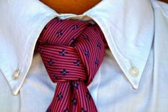 Você Sabe Fazer Um Nó de Gravata Diferente? Aprenda 3 Nós Agora