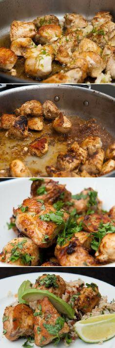 Food & Drink: Cilantro Chicken in minutes