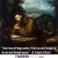 In honor of the Feast of St. Francis of Assisi.