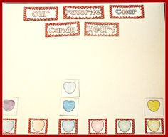Class Graph of Favorite Color Candy Hearts