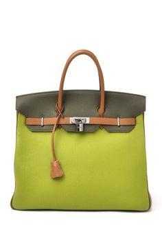 Vintage Hermes Leather Haut A Courroies (Stamp  Square J d830e7a9fe