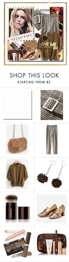 """Romwe 4/4"" by pesanjsp ❤ liked on Polyvore featuring Hourglass Cosmetics, Rimmel and Charlotte Tilbury"