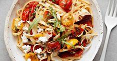 Feta, Risotto, Spaghetti, Ethnic Recipes, Noodle