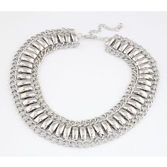 Metal chunky necklace Europe fashion elegant clavicle chain SX-509-077