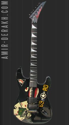 *FINISHED!* Dave Murray 'Aces High' Signature Strat