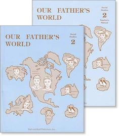 """Grade 2 Social Studies """"Our Fathers World"""" Set"""