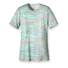 Patagonia Women's Capilene® 1 Silkweight Graphic T-Shirt- for rock climbing