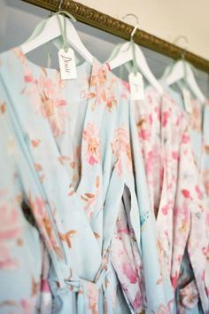 Gift your bridal party matching robes.