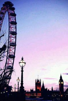 the london eye, england.