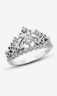James Avery Princess Crown Ring April 2017