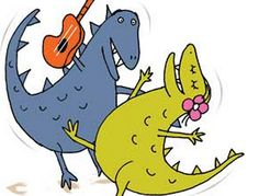 Dinosaur Dance - A Themed Dance Lesson for Foundation to Year 2 - Australian Curriculum Lessons