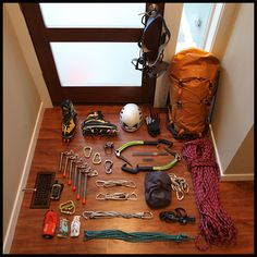 Front door kit: Time for an ice climb!                                                                                                                                                                                 More