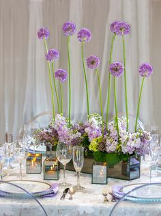 Styled Shoot: Ultra Violet Wedding Details