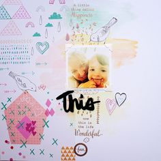 My Sweet Things: LAYOUT | 'Hapiness' para Scrap to Dream